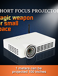 DLP-100 DLP WXGA (1280x800) Projector,LED 3000 HD Wireless 3D DLP Projector