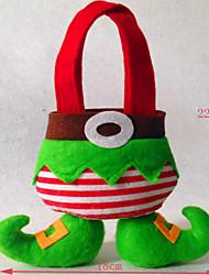 baratos -decorações de natal do saco elfos