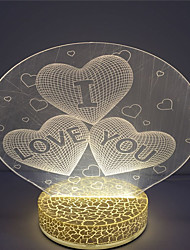 cheap -New Arrival Customized Design 3D Led Table Night Light