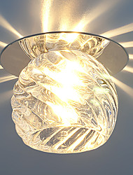 Round Ceiling light Fashion Crystal Downlight Recessed LED