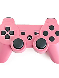 abordables -Mando Wireless Recargable para PS3 (Rosa)