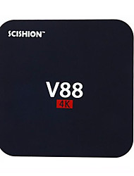 SCISHION RK3229 Android TV Box,RAM 1GB ROM 8GB Quad Core WiFi 802.11n No