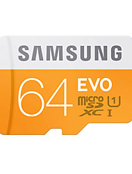 abordables -SAMSUNG 64Go TF carte Micro SD Card carte mémoire UHS-I U1 Class10 EVO