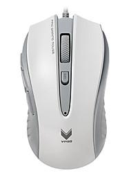 rapoo v300c mouse da gioco 4 modalità regolabile 4000 dpi programmabile 8 pulsanti di respirazione computer portatile luce pc