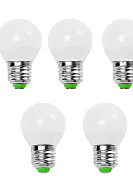 cheap -EXUP® 5pcs 5W 450lm E14 E26 / E27 LED Globe Bulbs G45 12 LED Beads SMD 2835 Decorative Warm White Cold White 110-130V 220-240V