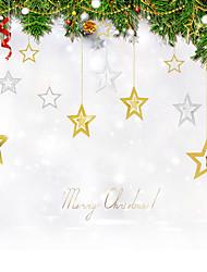 Недорогие -1 комплект (7pc) Рождественский венок хвою рождественские украшения для лент диаметром домой партии NAVIDAD новые поставки год