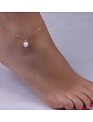 cheap -Women's Anklet/Bracelet Pearl European Simple Style Fashion Jewelry For Wedding Party