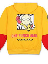economico -Abiti Cosplay Ispirato da Un uomo con un pugno Snow Miku Anime Accessori Cosplay Maglietta Nero Cotone unisex
