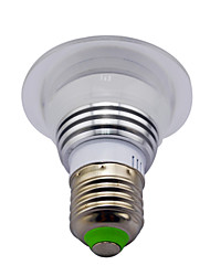 3W E14 GU10 B22 E26/E27 LED Smart Bulbs MR16 1 High Power LED 130 lm RGB / K Infrared Sensor Dimmable Remote-Controlled Decorative AC