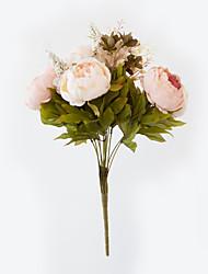 Недорогие -Искусственные Цветы 1 Филиал Европейский стиль Пионы Букеты на стол