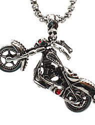 cheap -Men's Pendant - Skull Fashion Pendant Silver For Daily