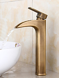 american standard entraxe poignée seul trou bronze antique salle de bains robinet d'évier