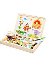Jouets Aimantés Jouet Educatif Puzzle Jouets Eléphant Maison Cheval Crocodile Animaux Nouveauté Pièces