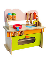 Pretend Play Educational Toy Toy Kitchen Sets Toys Furniture Novelty Simulation Girls' Pieces