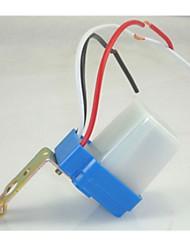 interrupteur de commande de lumière 220v extérieur lumière du commutateur du capteur