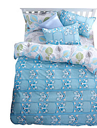 Mingjie Wonderful Sky Blue Bedding Sets 4PCS for Twin Full Queen King Size from China Contian 1 Duvet Cover 1 Flatsheet 2 Pillowcases