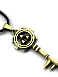 preiswerte -Mehre Accessoires Inspiriert von The Legend of Zelda Cosplay Anime Cosplay Accessoires Halsketten Gold Legierung