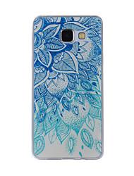 preiswerte -Hülle Für Samsung Galaxy A5(2016) / A3(2016) Muster Rückseite Lace Printing Weich TPU für A8(2016) / A5(2016) / A3(2016)
