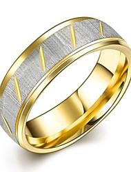Муж. Жен. Кольца для пар Кольцо Обручальное кольцо Мода Нержавеющая сталь Бижутерия Назначение Свадьба Для вечеринок Повседневные Спорт
