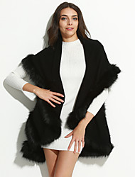 cheap -Women's Elegant & Luxurious Fur Coat-Embroidery,Vintage Style