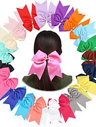 Недорогие -Резинка и Связи Аксессуары для волос Полиэстер парики Аксессуары Девочки штук см Повседневные Классика Высокое качество