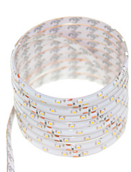 cheap -SENCART 5m Flexible LED Light Strips 300 LEDs Warm White / RGB / White Remote Control / RC / Cuttable / Dimmable 12V / 3528 SMD / IP68