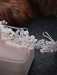 cheap -Imitation Pearl Alloy Tiaras Headbands 1 Wedding Special Occasion Casual Headpiece