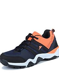 Недорогие -Муж. обувь Кожа Весна Осень Туфли Мери-Джейн Спортивная обувь Беговая обувь Шнуровка для Повседневные Черный Оранжевый Зеленый Синий