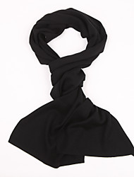 Cashmere Scarf Vintage / Casual Rectangle Solid