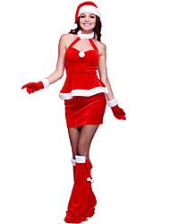 Cosplay Vestito da Serata Elegante Donna Natale Feste/vacanze Costumi Halloween Tinta unita