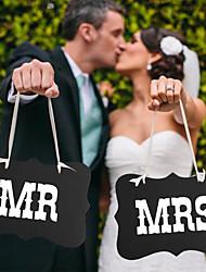 Недорогие -Обручение / Свадебные прием Плотная бумага Свадебные украшения Классика Лето / Осень / Зима