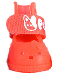 Cat Dog Shoes & Boots Casual/Daily Solid For Pets