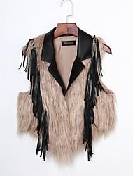 cheap -Women's Casual / Formal Casual / Street chic Fur Coat