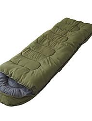 Недорогие -Спальный мешок Прямоугольный Пух 10°C Хорошая вентиляция Водонепроницаемость Компактность С защитой от ветра Дожденепроницаемый Складной
