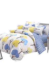 Mingjie Shrubs  Bedding Sets 4PCS for Twin Full QueenSize from China Contian 1 Duvet Cover 1 Flatsheet 2 Pillowcases
