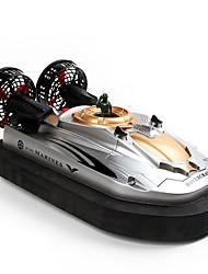 Недорогие -Лодка на радиоуправлении HT-2876 Катер на воздушной подушке пластик каналы 3km/h-6km/h КМ / Ч