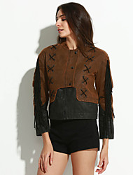 cheap -Women's Boho Jacket Patchwork