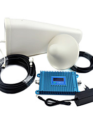 cheap -GSM 900mhz Mobile Phone Signal Booster GSM980 Signal Repeater with Log Periodic Antenna / Ceiling Antenna /  LCD Display