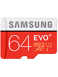 abordables -SAMSUNG 64Go TF carte Micro SD Card carte mémoire UHS-I U1 Class10 EVO Plus EVO+