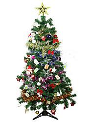 embelezado rosa árvore de natal cor de rosa árvore 150cm natal decoração suprimentos