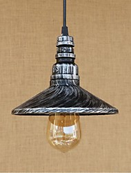 cheap -Pendant Light ,  Rustic/Lodge Painting Feature for Designers Metal Bedroom Dining Room Study Room/Office Game Room Garage