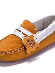 preiswerte -Jungen-Loafers & Slip-Ons-Outddor Lässig Sportlich-Wildleder-Flacher Absatz-Komfort-Blau Gelb