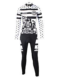 Ilpaladin Women Long Sleeve Cycling Jerseys Suit CT630