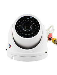 YanSe® 1000TVL Metal aluminum D/N CCTV Camera IR 36 LED Dome Waterproof Wired 711CFW