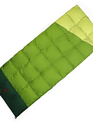Sleeping Bag Envelope / Rectangular Bag Duck Down 10°C Well-ventilated Waterproof Portable Windproof Rain-Proof Foldable Sealed 230X100
