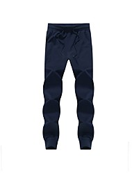 Men's Running Pants Breathable Soft Comfortable Pants / Trousers Bottoms for Exercise & Fitness Golf Leisure Sports Running Cotton Slim