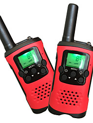 cheap -Kids Walkie Talkies 22 Channels and Back-lit LCD Screen (up to 6KM in open areas) Walkie Talkies for Kids (1 Pair) T48