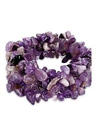MISSING U Bracelet Chain Bracelet Crystal Birthday / Gift / Daily Jewelry Gift Purple1pc