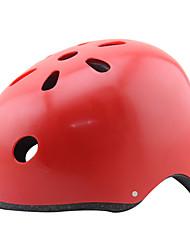 Недорогие -Мотоциклетный шлем CE Велоспорт 11 Вентиляционные клапаны Регулируется Экстремальный вид спорта One Piece Велосипедный спорт Пешеходный