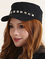 cheap -Men Women Navy Baseball Cap Rivets Sequin Flat - top Sun Visor Hat